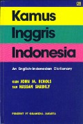 Kamus Inggris - Indonesia : an English - Indonesia Dictionary