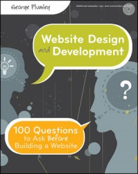 Image of Website design and development : 100 questions to ask before building a website